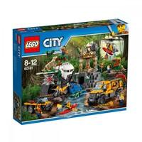 Пластиковый конструктор LEGO City База исследователей джунглей 813 деталей (60161)