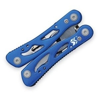 Swiss+Tech Pocket Multi-Tool 12 in 1 blue
