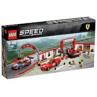 Авто-конструктор LEGO Speed Champions Гараж Ferrari (75889)