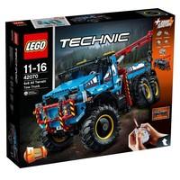 Авто-конструктор LEGO Technic Аварийный внедорожник 6х6 (42070)