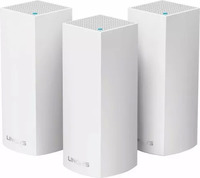 Беспроводной маршрутизатор (роутер) Linksys VELOP WHOLE HOME MESH WI-FI SYSTEM PACK OF 3 (WHW0303)