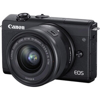 Беззеркальный фотоаппарат Canon EOS M200 kit (15-45mm) IS STM Black