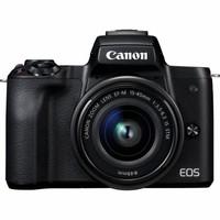 Беззеркальный фотоаппарат Canon EOS M50 kit (15-45mm) IS STM Black