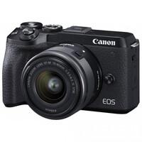 Беззеркальный фотоаппарат Canon EOS M6 Mark II kit (15-45mm) Black