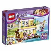 Блочный конструктор LEGO Friends Пляжный домик Стефани (41037)