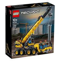 Блочный конструктор LEGO Technic Передвижной кран (42108)