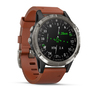 Часы Garmin D2™ Delta Aviator Watch with Brown Leather Band
