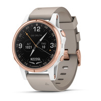 Часы Garmin D2™ Delta S Aviator Watch with Beige Leather Band