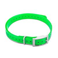 Дополнительный сменный ошейник для Garmin T5mini/TT15mini Collar Strap Square Buckle Green