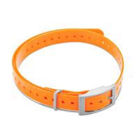 Дополнительный сменный ошейник для Garmin T5mini/TT15mini Collar Strap Square Buckle Orange