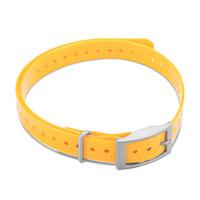Дополнительный сменный ошейник для Garmin T5mini/TT15mini Collar Strap Square Buckle Yellow