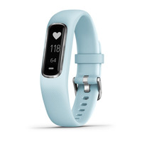 Фитнес-браслет Garmin Vivosmart 4 Azure Blue with Silver Hardware