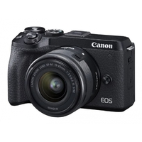 Фотоаппарат Canon EOS M6 Mark II EF-M15-45mm Lens and EVF-DC2 Viewfinder
