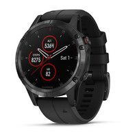 Часы Garmin Fenix 5 Plus Sapphire, Black with Black Band