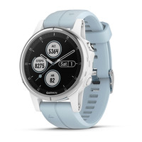 Часы Garmin Fenix 5S Plus White with Seafoam Band