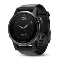 Часы Garmin Fenix 5s Sapphire черные