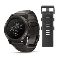Часы Garmin Fenix 5x Plus Sapphire, Carbon Gray DLC Titanium with DLC Titanium Band