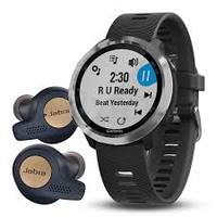 Garmin Forerunner 645 Music Black & Jabra Elite Active 65t