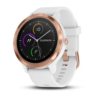 Garmin Vivoactive 3 White with Rose Gold Hardware