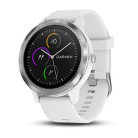 Garmin Vivoactive 3 White with Stainless Hardware