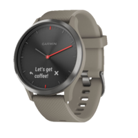 Garmin Vivomove HR Sandstone with Slate Hardware