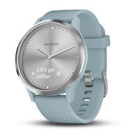 Garmin Vivomove HR Sea Foam with Silver Hardware