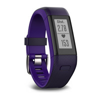 Garmin Vivosmart HR+ Imperial Purple/ Kona Purple