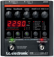 Гитарная педаль TC Electronic ND-1 Nova Delay