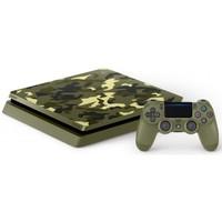 Игровая приставка Sony Playstation 4 Slim 1TB Limited Edition Call of Duty: WWII + Call of Duty: WWI