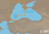 Карта C-MAP MAX-N EM-N120 - Западная часть Черного моря