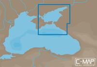 Карта C-MAP MAX-N EM-N121 - Азовское море, восточная часть Черного моря