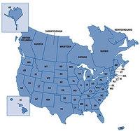 Карта nüMaps Onetime™ City Navigator® North America NT 2017