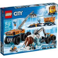 Классический конструктор LEGO City Arctic Expedition Передвижная арктическая база (60195)