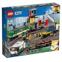 Классический конструктор LEGO City Грузовой поезд (60198)