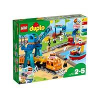 Классический конструктор LEGO DUPLO Town Грузовой поезд (10875)
