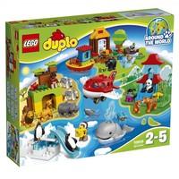 Классический конструктор LEGO Duplo Вокруг света (10805)