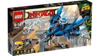 Классический конструктор LEGO Ninjago Movie Самолёт молния Джея (70614)