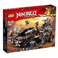 Классический конструктор LEGO NINJAGO Стремительный странник (70654)
