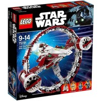 Классический конструктор LEGO Star Wars Звёздный истребитель джедаев с гипердвигателем (75191)