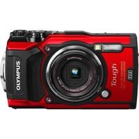 Компактный фотоаппарат Olympus Stylus Tough TG-5 Red