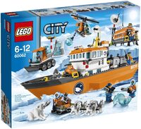 Конструктор LEGO City Арктический ледокол (60062)