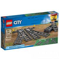 Конструктор LEGO City Стрелочный перевод (60238)
