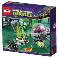 Конструктор LEGO Turtles Побег из лаборатории Кранга (79100)
