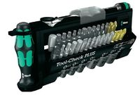 Набор бит Wera tool-check plus набор сменных головок + биты + трещотка + держатель rapidator + ручка 28 элем.
