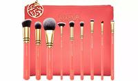 Набор кистей для макияжа ZOEVA Coral Shine Brush Set 9 brushes