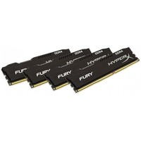 Память Kingston 32 GB (4x8GB) DDR4 2133 MHz HyperX Fury Black (HX421C14FB2K4/32)