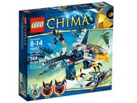Пластиковый конструктор LEGO Chima Перехватчик Орлицы Эрис (70003)