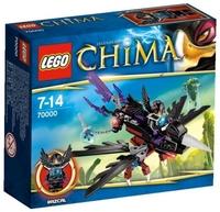 Пластиковый конструктор LEGO Chima Планер Ворона Разкала (70000)