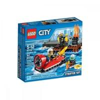 Пластиковый конструктор LEGO City Fire Набор «Пожарная охрана» для начинающих (60106)