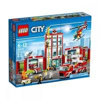 Пластиковый конструктор LEGO City Fire Пожарная станция (60110)